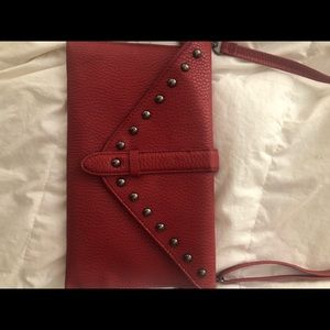 Brand new never used red purse